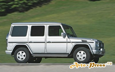 Mercedes G-Glass