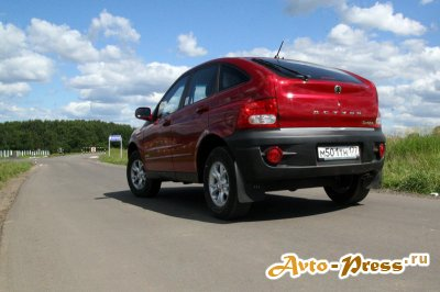 Дерзкий SsangYong Actyon